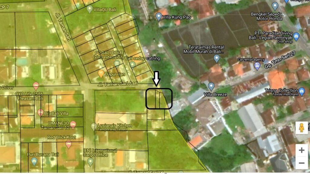 Kerobokan Bali land for sale FH-0039 e-min